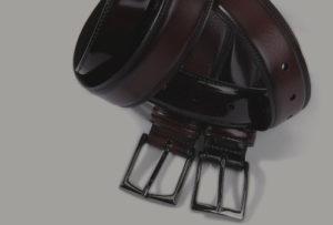 Cinturones hombre de piel