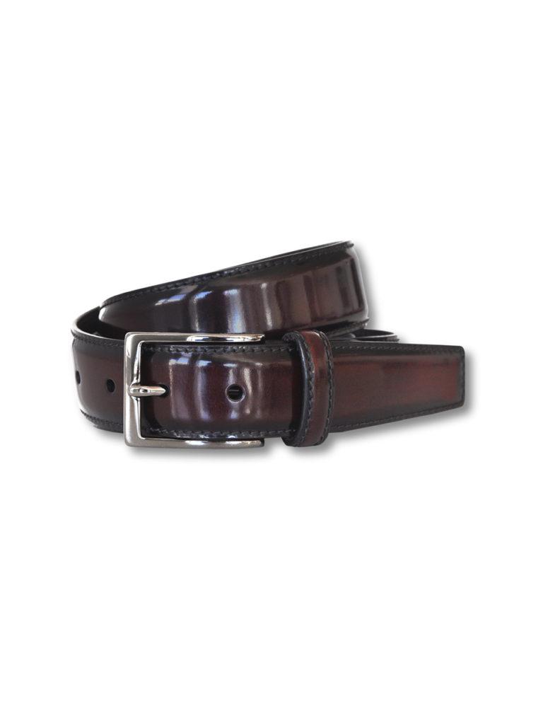 cinturón de piel de ternera
