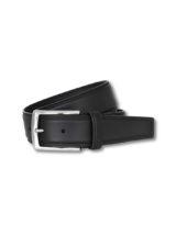 cinturón piel de ternera negro