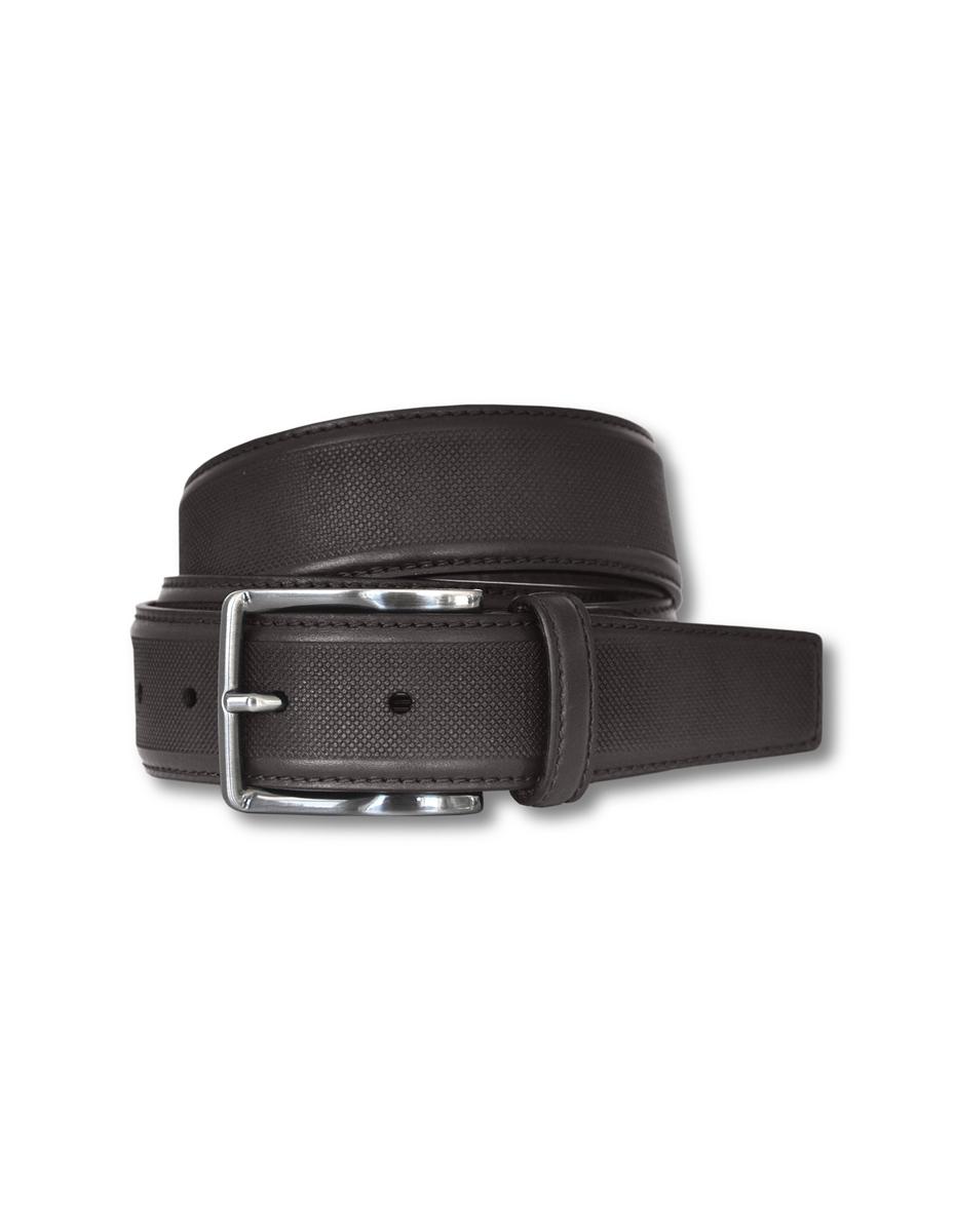 Cinturón de piel legítima