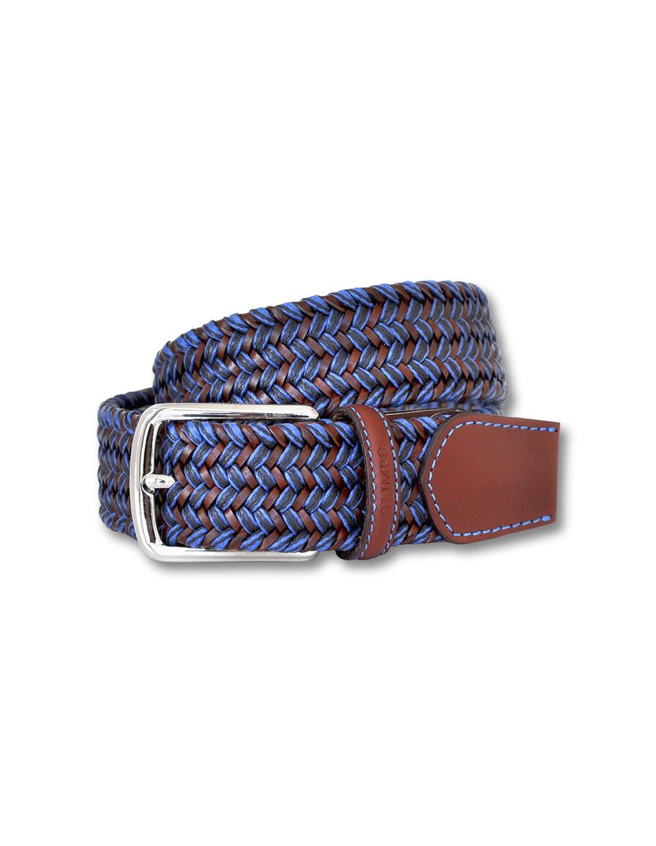 cinturón de cuero y algodón