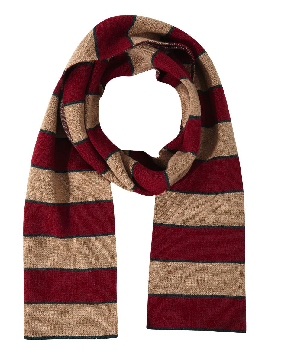 1397d6133ce62 Horizontal colour striped scarf - OLIMPO